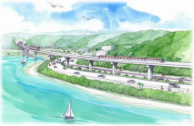 こんな計画があるのですね! 沖縄縦貫鉄道!?「うるま・恩納ルート」が有力に