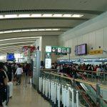【那覇空港】ハイシーズンでもないのにANAの受託手荷物ラインは大混雑でした 2月28日の話