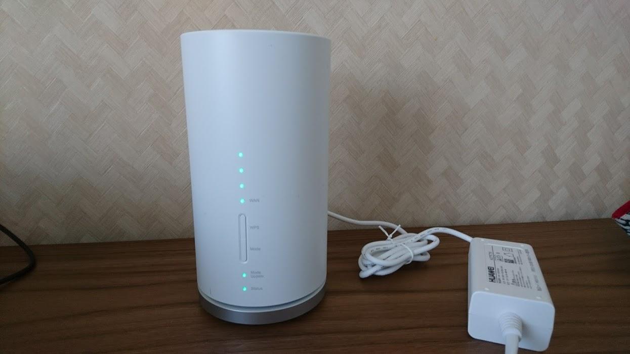 ネット対応のマンションなのにネットの工事ができない・・・私が選んだのはWiMAX 2+「Speed Wi-Fi HOME L01/L01s」