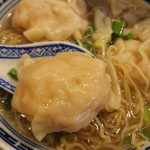 【香港 中環 セントラル】ビブグルマン常連店 沾仔記(チムチャイキー)ぷりっぷりのエビワンタン麺(蝦雲呑麺)をいただく