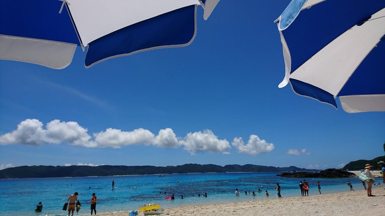 ミシュラン・グリーンガイド2つ星 古座間味ビーチへ 憧れの過ごし方を体験