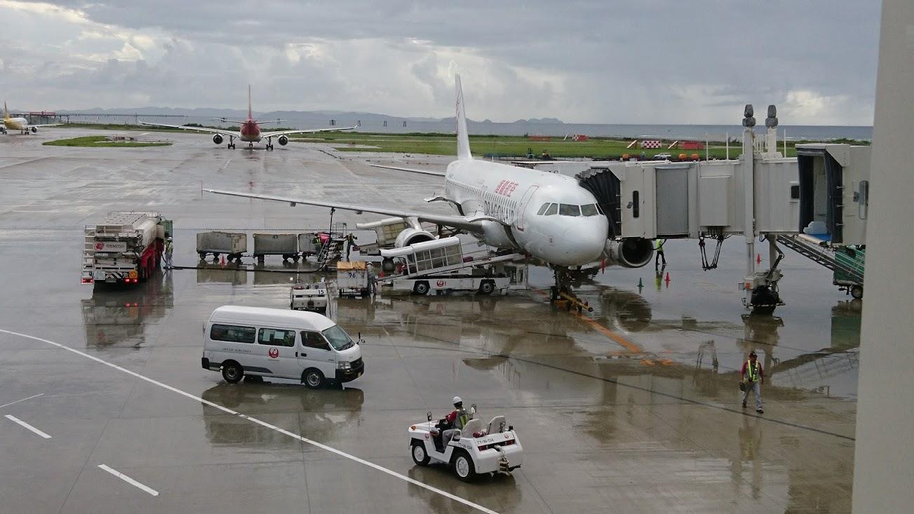 【那覇空港】ちょっとガッカリした那覇空港国際線ターミナル【出国前】