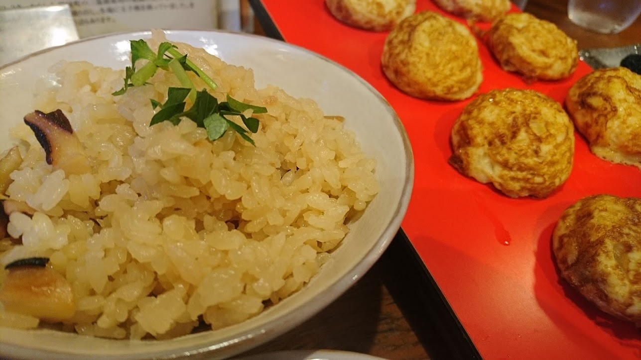 【神戸】JR三宮駅から一番近い明石焼きのお店「たこ庵」明石焼きだけでなくタコの珍味が絶品