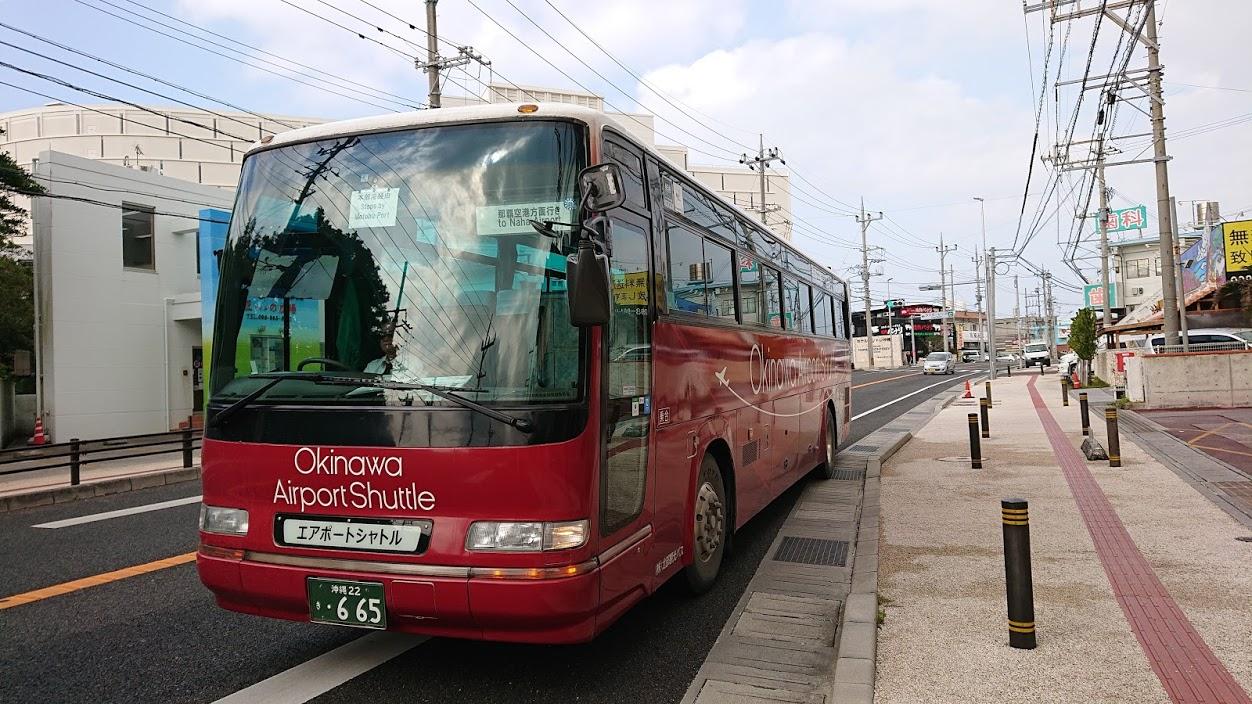 【沖縄・バス旅】沖縄エアポートシャトルバス 2019年2月改正 バス停も増えて恩納村内の移動も便利です
