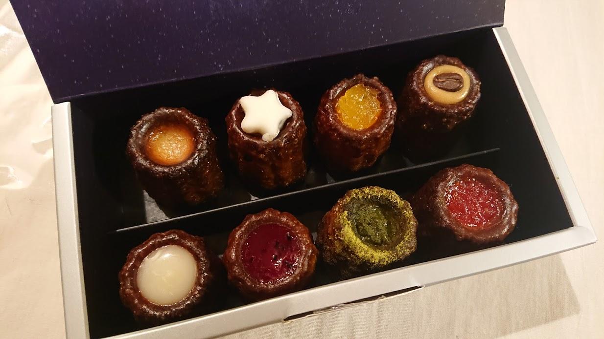 【那覇空港】オシャレでかわいい黒糖カヌレ「ほうき星」 帰省のお土産に選びました