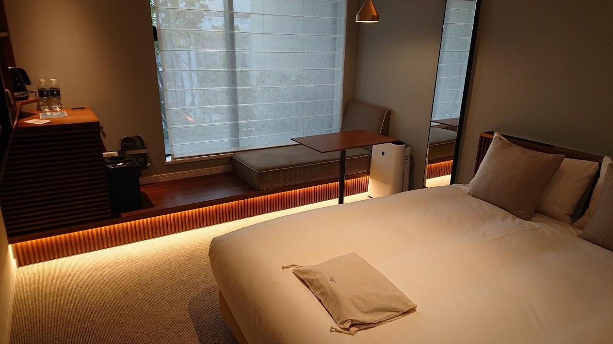 スタイリッシュで機能的なお部屋 HAMACHO HOTEL(水天宮エリア)化学物質過敏症な私の宿泊レポ Mar,2020